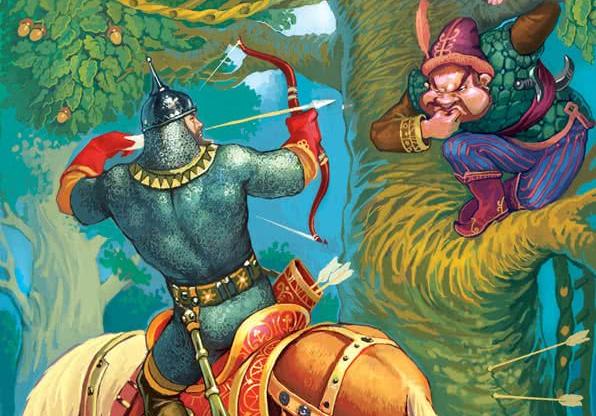 Иллюстрации к рассказу илья муромец и соловей разбойник